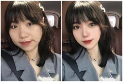 SỐC trước cách hô biến nhan sắc nhờ photoshop của loạt hot girl Trung Quốc