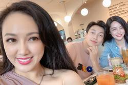 Chụp ảnh cùng 'hotgirl thẩm mỹ', BTV Hoài Anh gây sốt với nhan sắc cân đẹp đàn em kém 12 tuổi