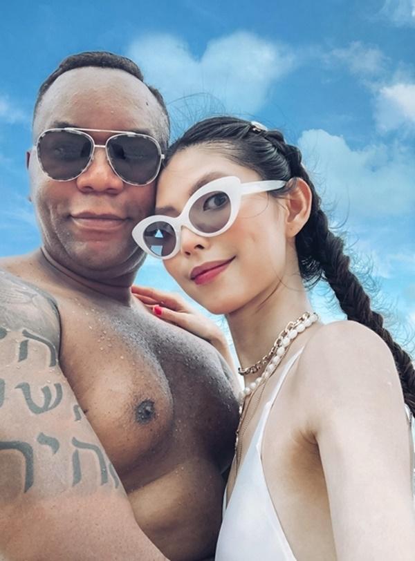 Thùy Dương Next Top chưa vội cưới bạn trai Mỹ-1