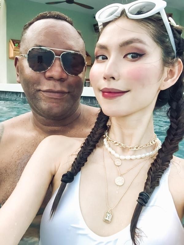 Thùy Dương Next Top chưa vội cưới bạn trai Mỹ-2