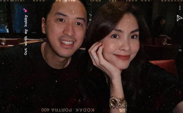 Vợ chồng Tăng Thanh Hà khoe ảnh hẹn hò cuối tuần đầy ngọt ngào-1