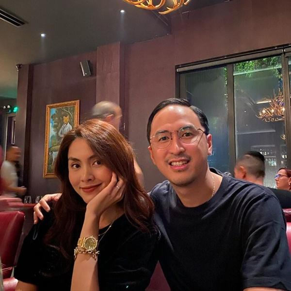 Vợ chồng Tăng Thanh Hà khoe ảnh hẹn hò cuối tuần đầy ngọt ngào-2