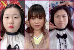 Màn lột xác không ngờ của những cô nàng mặt to tròn nhờ đổi kiểu tóc