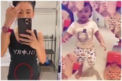 Lộ vòng hai phát tướng, Trương Bá Chi bị nghi ngờ mang thai lần 4