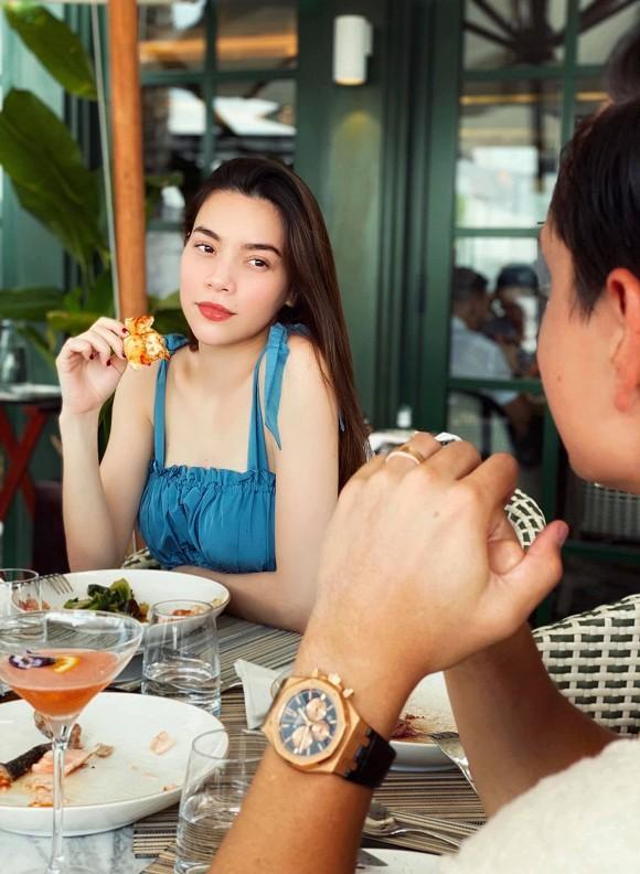 Hà Hồ - Kim Lý cùng nhau đăng ảnh gia đình hạnh phúc cuối tuần, nhan sắc của nữ ca sĩ khi bầu bí vẫn cực phẩm-5
