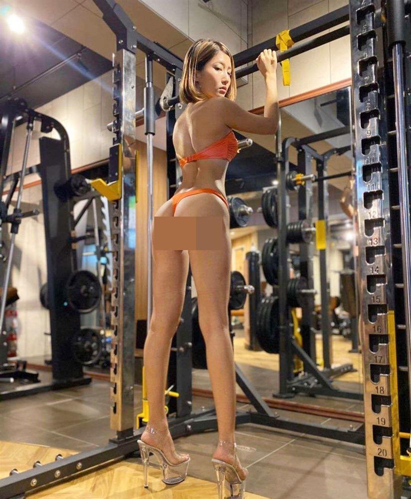 Ngượng chín mặt loạt trang phục phản cảm nơi phòng gym-4