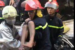 Một trong số 7 người được giải cứu tại vụ cháy căn nhà 3 tầng ở Sài Gòn đã tử vong