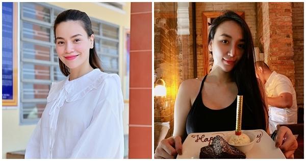 Cùng mang thai đôi nhưng Hồ Ngọc Hà và vợ Khắc Việt đối chọi nhau về ngoại hình bầu bí-11