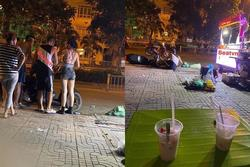 Lộ ảnh Lương Bằng Quang và Ngân 98 bị 10 thanh niên hành hung trên đường