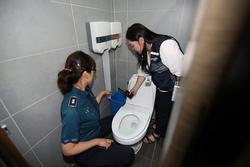 Nhà vệ sinh nữ của đài KBS bị gắn camera quay trộm