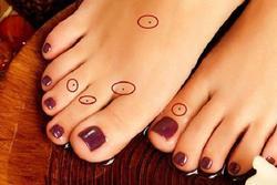 Xem tướng nốt ruồi ở chân: Ngón cái cực lộc, ngón giữa cần tìm cách hóa giải