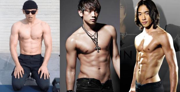 Cái nóng 40 độ cũng không hầm hập như múi bụng của Bi Rain: Ông xã 38 tuổi của chị Kim Tae Hee, bố bỉm sữa 2 con đây ư?-3