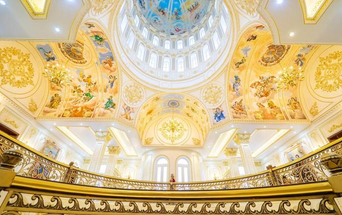 Choáng ngợp dinh thự dát vàng hơn 100 tỷ đồng, nổi danh ai cũng biết ở Thanh Hóa-5