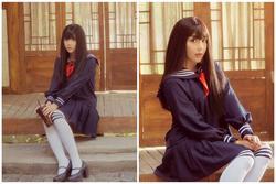 Hóa thân nữ sinh Nhật Bản, Duy Khánh đẹp vi diệu vẫn bị dân mạng nhận xét giống 'búp bê người lớn'