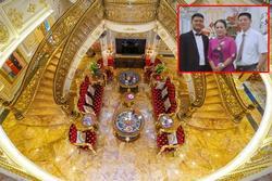 Choáng ngợp dinh thự dát vàng hơn 100 tỷ đồng, nổi danh ai cũng biết ở Thanh Hóa