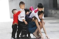 Hoa hậu 6 con Hồ Thị Oanh Yến: 'Bố 2 đứa con đầu của tôi đã qua đời'