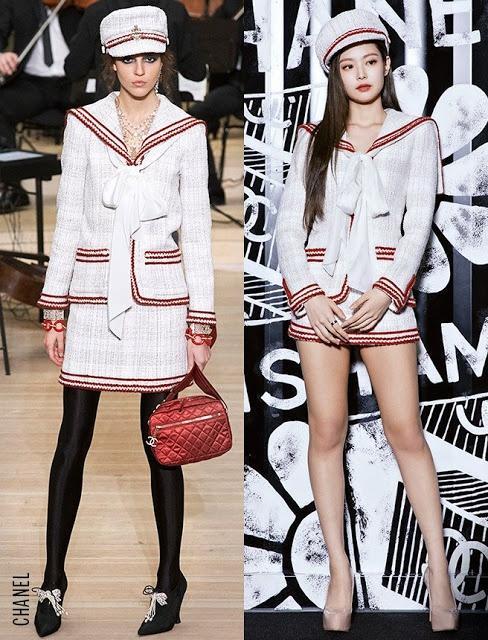 Jennie luôn có cách mặc hàng hiệu đẹp không kém mẫu trên sàn catwalk-1