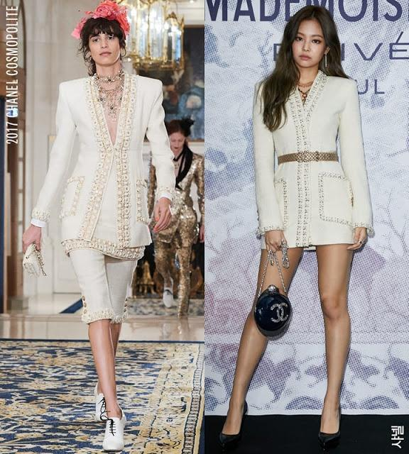 Jennie luôn có cách mặc hàng hiệu đẹp không kém mẫu trên sàn catwalk-2