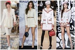 Jennie luôn có cách mặc hàng hiệu đẹp không kém mẫu trên sàn catwalk