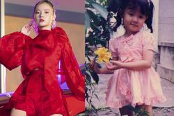 Đăng ảnh ngày bé, Midu làm fans thích thú với phong cách thời trang chuẩn dân chơi