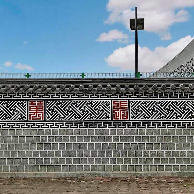 Phát hiện bức tường Hàn Quốc thần thánh giữa lòng Hà Nội-1