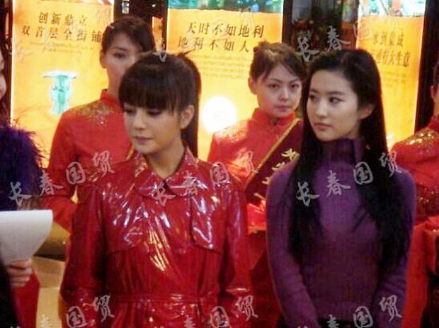 Dân mạng Cbiz kinh ngạc trước nhan sắc đẹp tuyệt trần của Lưu Diệc Phi khiến Triệu Vy lu mờ-3