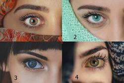 Chọn đôi mắt đẹp nhất để biết có bao nhiêu người đang thầm yêu bạn