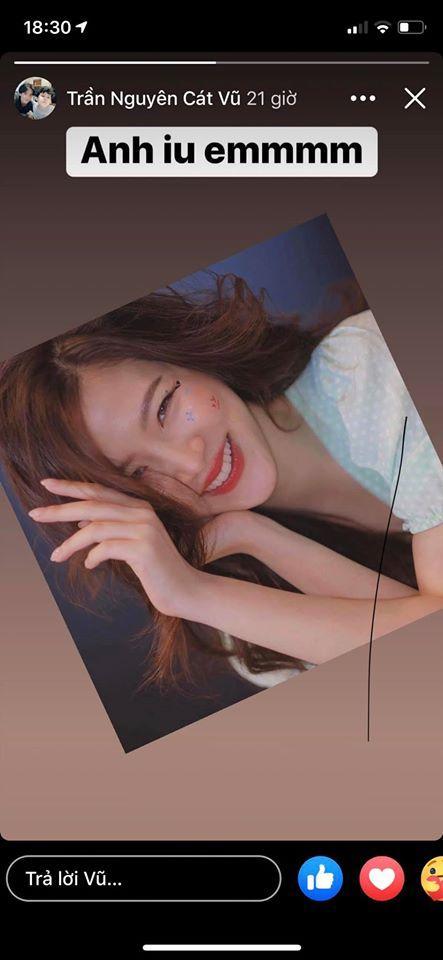 Tim đăng ảnh cô gái lạ mà quen nhưng không phải Trương Quỳnh Anh, lại còn công khai nói lời yêu đương nồng thắm-1