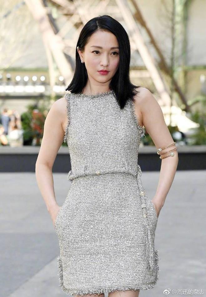 Châu Tấn diện đồ Chanel kém sang, trông như bà già ở sân bay-1