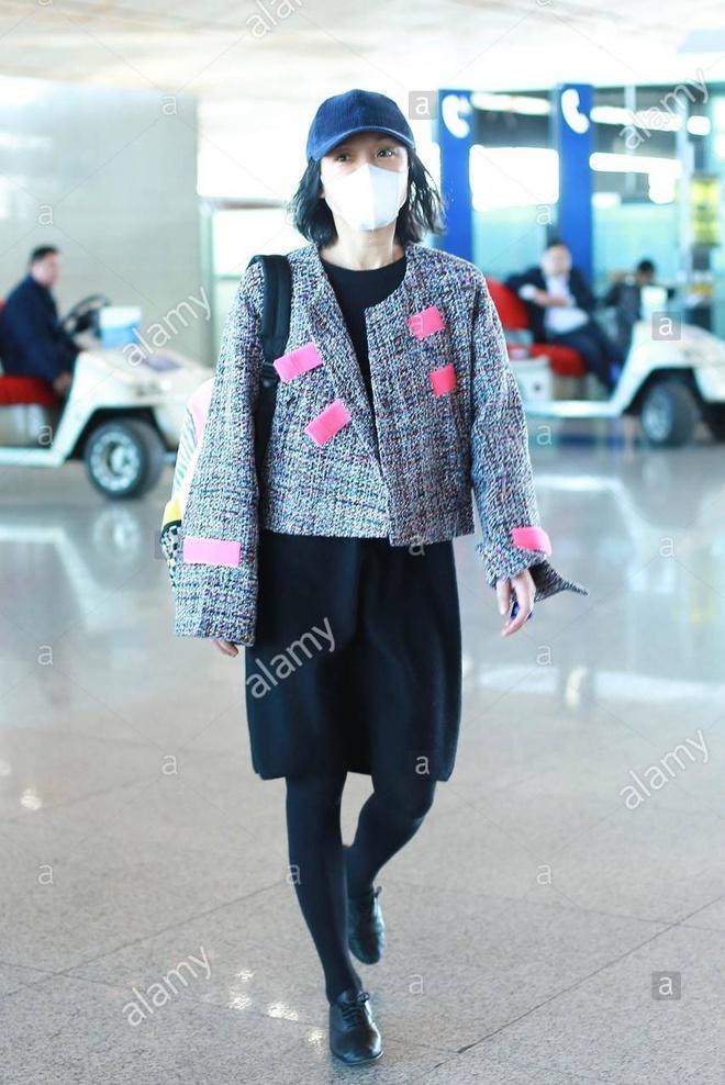 Châu Tấn diện đồ Chanel kém sang, trông như bà già ở sân bay-4