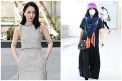 Châu Tấn diện đồ Chanel kém sang, trông như bà già ở sân bay
