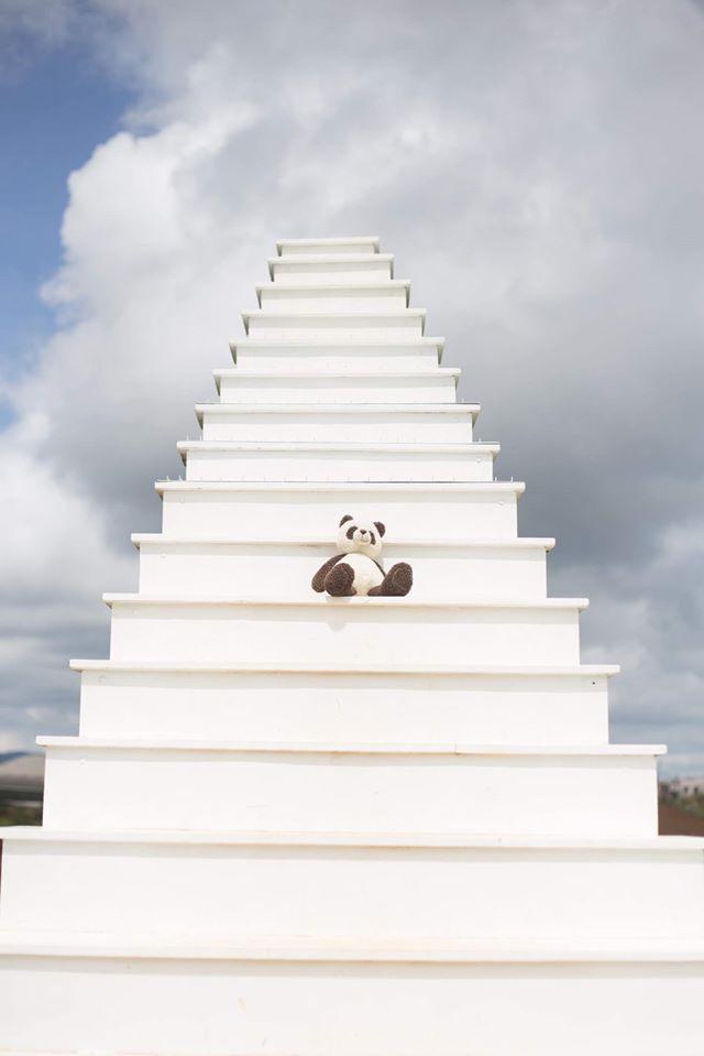 Chàng trai 9X đưa gấu bông đi du hí khắp Đà Lạt-8