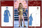 Sau Quốc phục 'Miss Cai Lậy' 7 miếng đất, xuất hiện thêm trang phục dân tộc chống Covid-19 siêu lạ cho Khánh Vân