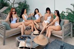 Nhóm bạn thân 5 cô gái trẻ đến từ TP. HCM gây xôn xao MXH bởi vóc dáng quá gợi cảm