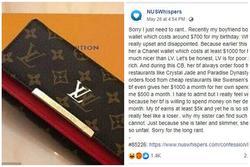 Bạn trai tặng ví Louis Vuitton giá 11 triệu đồng, cô gái bĩu môi chê: 'LV chỉ dành cho lũ dân chơi nửa mùa'