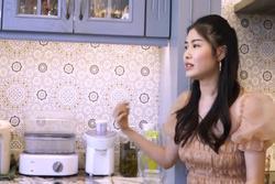Thăm bếp nhà vợ chồng ca sĩ Đăng Khôi