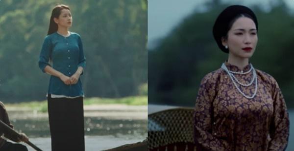 Vừa ra lò Cung đàn vỡ đôi của Chi Pu đã bị chỉ điểm trông hao hao vài cảnh MV của Hòa Minzy-3
