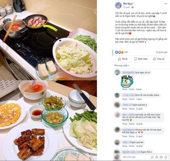 Lấy chồng đại gia có tiếng Hà Thành, nhưng nhìn bữa cơm giản dị của BTV Mai Ngọc khiến nhiều người ngạc nhiên và lý do cũng thật bất ngờ-1