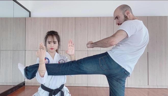 Nàng Việt, chàng Mỹ nên duyên nhờ cùng đam mê võ thuật-2