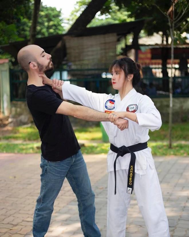 Nàng Việt, chàng Mỹ nên duyên nhờ cùng đam mê võ thuật-1