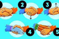 Cách bắt tay cũng chỉ ra tính cách, mức độ kiểm soát bản thân của bạn
