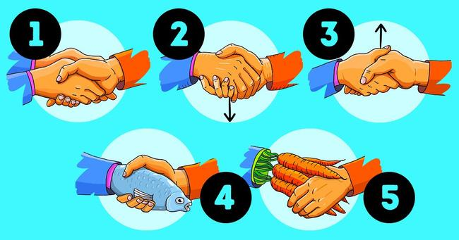 Cách bắt tay cũng chỉ ra tính cách, mức độ kiểm soát bản thân của bạn-1