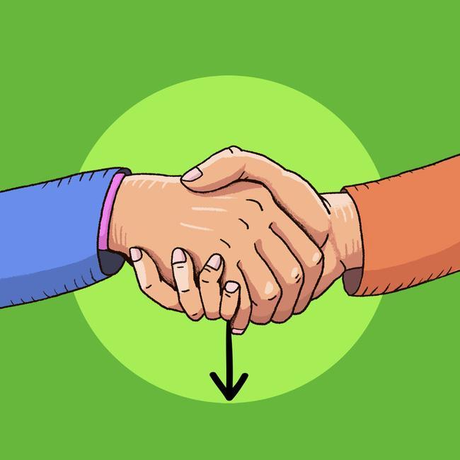 Cách bắt tay cũng chỉ ra tính cách, mức độ kiểm soát bản thân của bạn-3