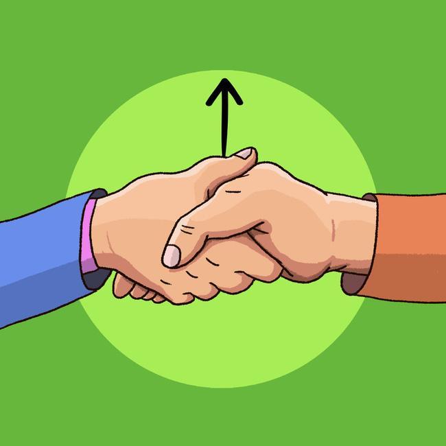 Cách bắt tay cũng chỉ ra tính cách, mức độ kiểm soát bản thân của bạn-4