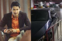 Ô tô bị 'xích' vì để sai chỗ, Huy Khánh quay clip chửi chung cư cao cấp