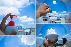 'Bữa tiệc đám mây' độc đáo trên bầu trời Sài Gòn khiến dân mạng thích thú