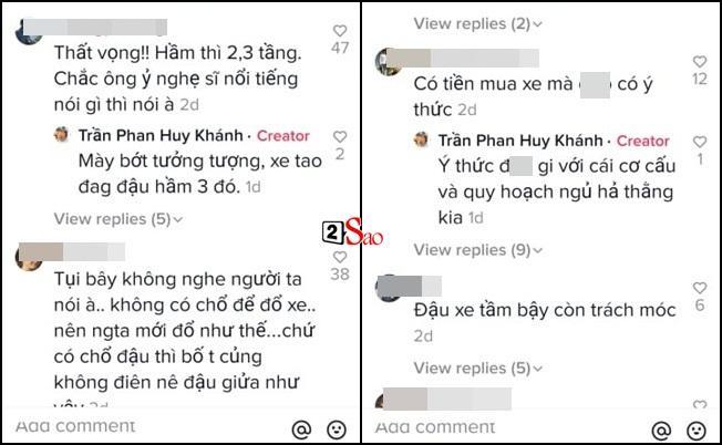 Ô tô bị xích vì để sai chỗ, Huy Khánh quay clip chửi chung cư cao cấp-4