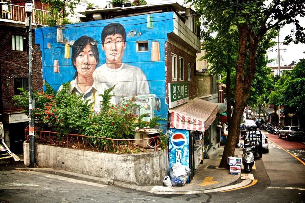 Điểm mặt những ngôi làng bích họa rực rỡ sắc màu ở Châu Á khiến ai đến cũng phải mê-8