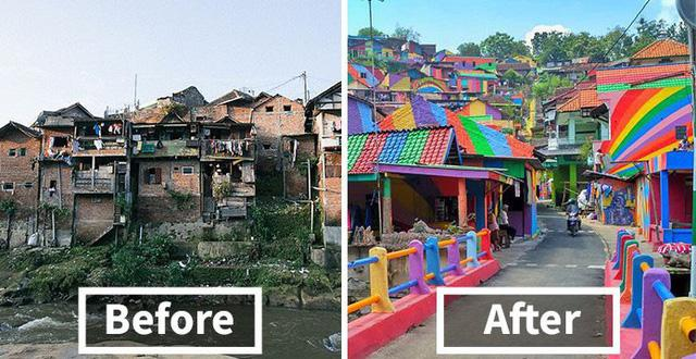 Điểm mặt những ngôi làng bích họa rực rỡ sắc màu ở Châu Á khiến ai đến cũng phải mê-15