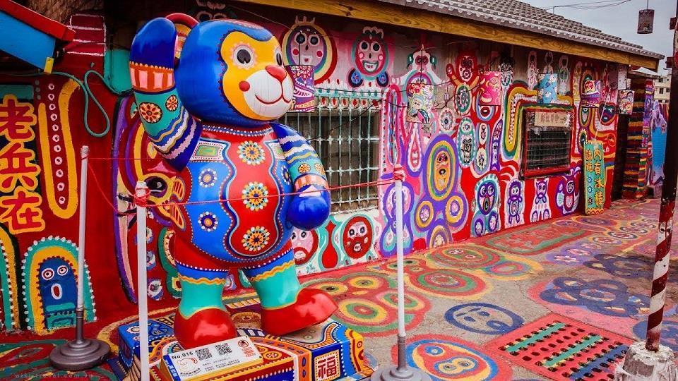Điểm mặt những ngôi làng bích họa rực rỡ sắc màu ở Châu Á khiến ai đến cũng phải mê-13